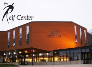 The 645-seat Reif Center has three spacious, state-of-the-art dance studios